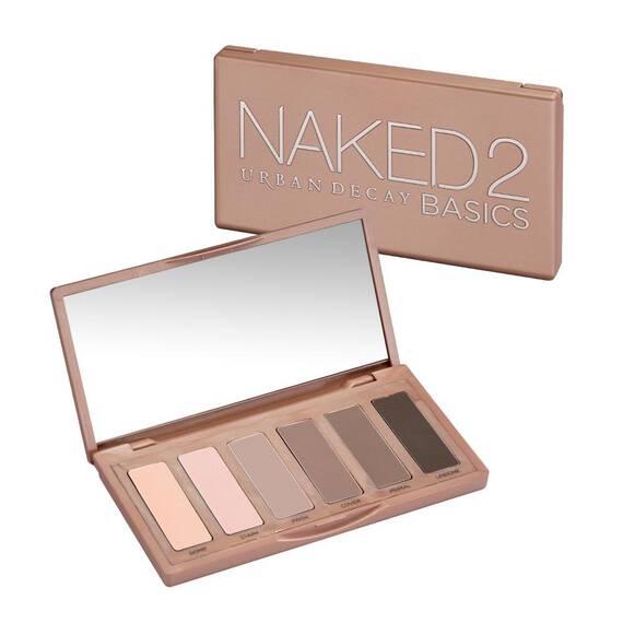 Palette d'ombres à paupières Naked2 Basics in color
