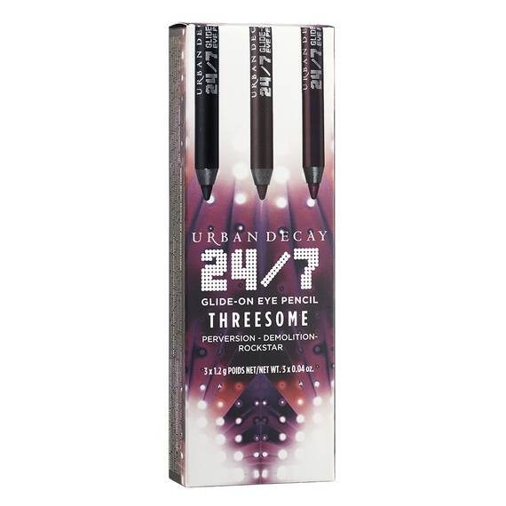 24/7 Glide-On Eye Pencil Threesome in color