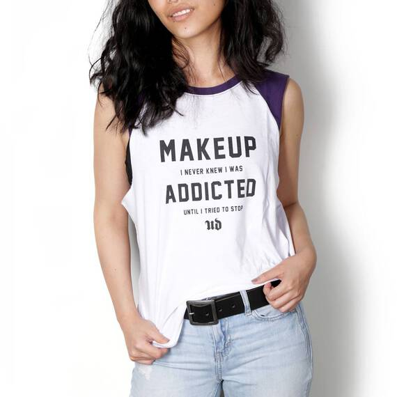 Makeup Addicted Muscle Tee in color