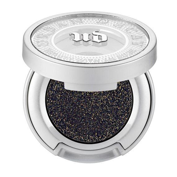 black matte w/gold 3-D sparkle