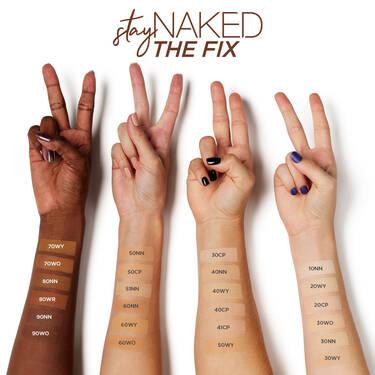 Stay Naked The Fix fond de teint en poudre