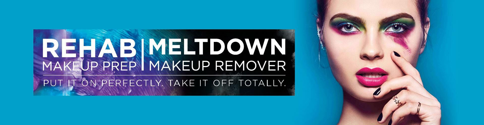 Rehab Makeup Prep | Meltdown Makeup Remover